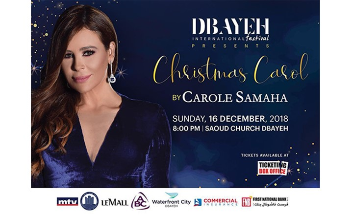 A Christmas Carol by Carole Samaha at Dbayeh on 16 December... Grab your tickets now!