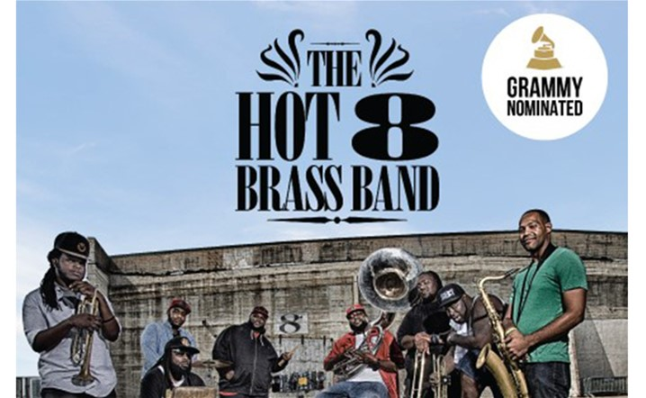 The HOT 8 Brass Band will be performing live at MusicHall on 24 February... Tickets on sale!