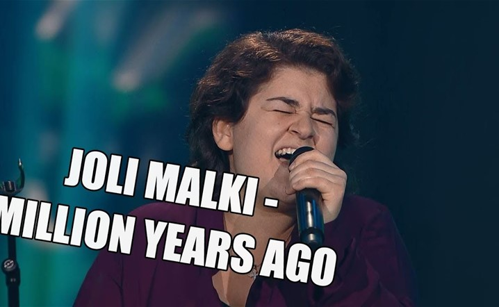 Joli Malki, originally from Syria, turned all the chairs in The Voice of Finland