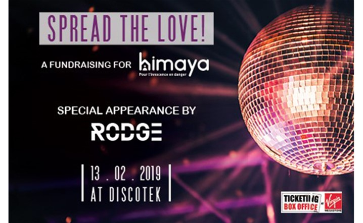 Spread the Love with himaya this Valentine's at Discotek Quarantina! Get your tickets now!