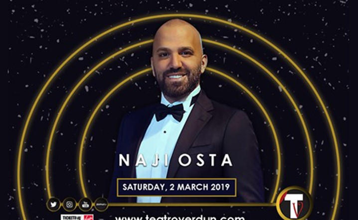 Naji El Osta will be performing live at Teatro Verdun on March 02, 2019... Tickets are available now!