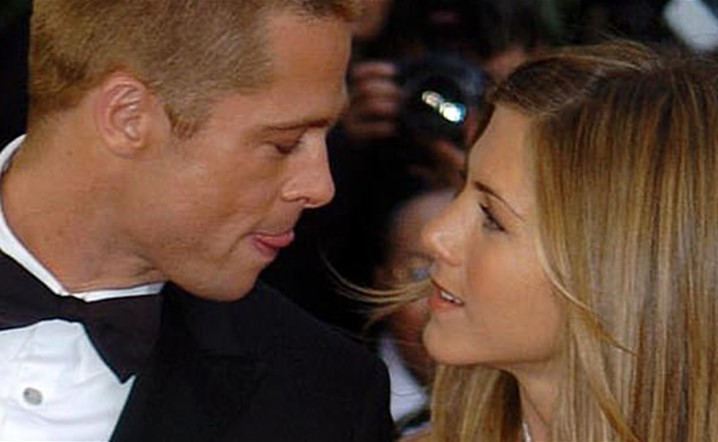 Brad Pitt sneaked into ex-wife Jennifer Aniston's birthday party