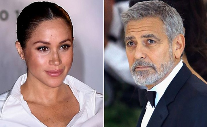 What did Clooney say about Megan Markleæ