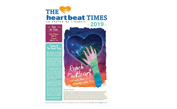 Check out all Heartbeat activities and initiatives from 2018 in the Heartbeat Times 2019