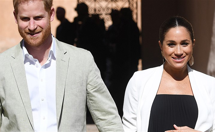 Meghan Markle and Prince Harry Made their First Appearance with the Baby