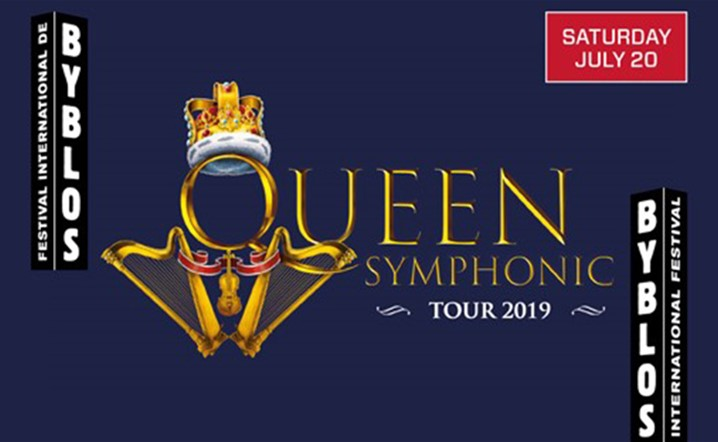 Queen Symphonic - Part of Byblos international Festival 2019 on 20 July... Grab your tickets now!