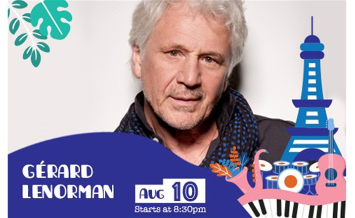 Ehdeniyat International Festival Presents Gerard Lenorman on 10 August… Book your tickets starting $30