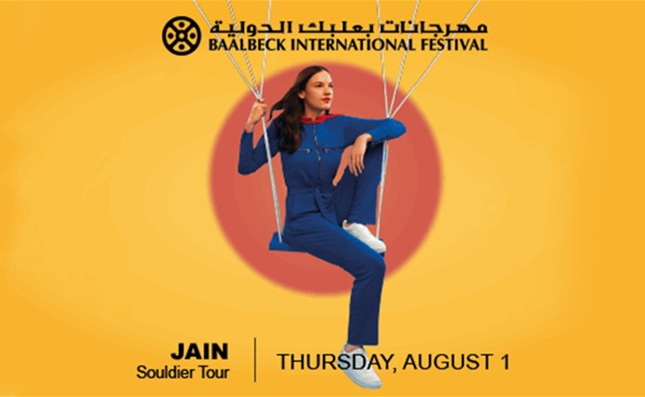 Baalbeck welcomes this summer French rising sensation Jain on August 1... Get your tickets now!