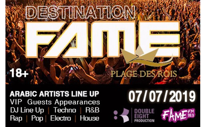 Don't miss out on the biggest event of SUMMER 2019, Destination Fame! Tickets on sale!