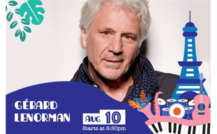 Gérard Lenorman will be performing live at Ehdeniyat Festival 2019 on 10 August... Grab your tickets now!