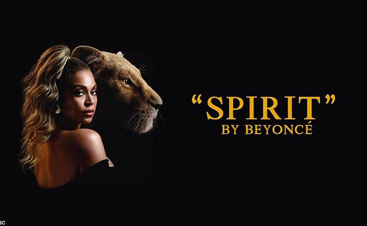 Beyonce unveils new music video for Spirit from The Lion King soundtrack
