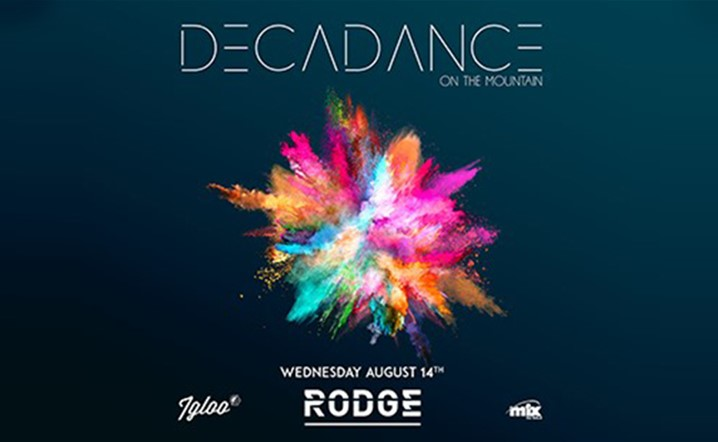 Decadance returns for the 9th Assumption night in Mzaar on Wednesday August 14 at Igloo Mzaar