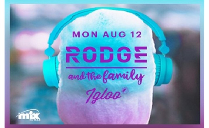 DJ Rodge will be performing at Igloo Mzaar on 12 August at 1:00 PM... Tickets on sale!