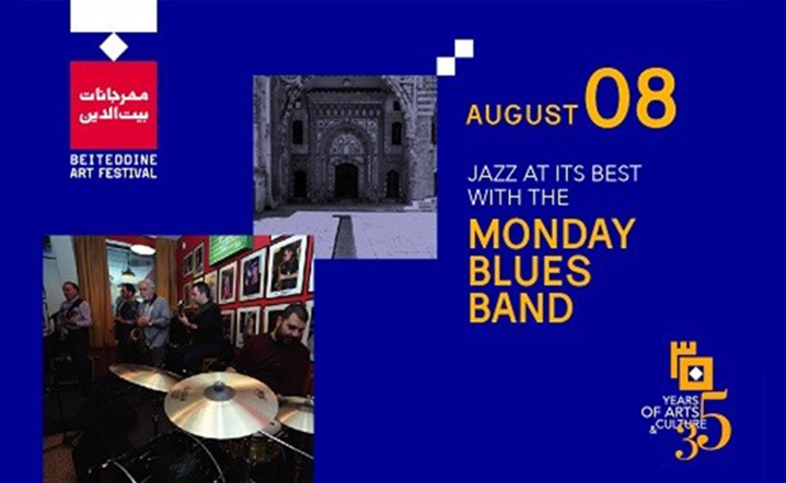 Jazz at its best with the Monday Blues Band TONIGHT at Beiteddine Art Festival! Hurry up and get your tickets!