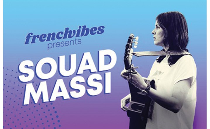 French Vibes presents Souad Massi at MUSICHALL on October 8… Tickets on sale!