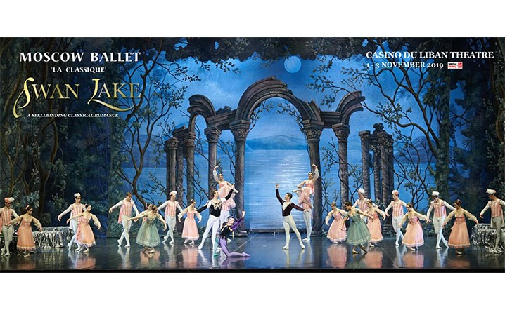 Swan Lake-Moscow Ballet La Classique From Friday 01 Nov 2019 To Sunday 03 Nov 2019... Tickets available now!