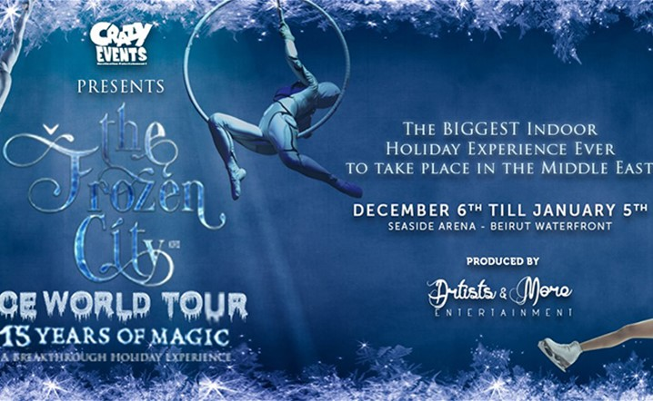 "Celebrating 15 years of MAGIC, Crazy Events proudly presents ""The Frozen City - Ice World Tour"""