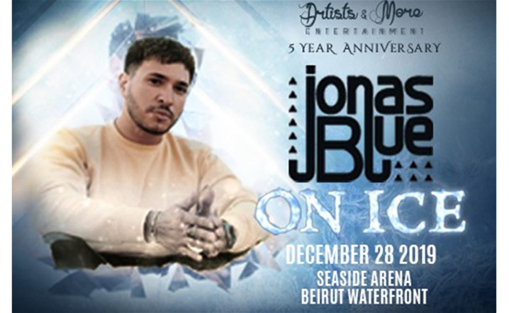 Artists and More proudly presents the biggest ice breaker to hit Lebanese winters this season: Jonas Blue – On Ice!