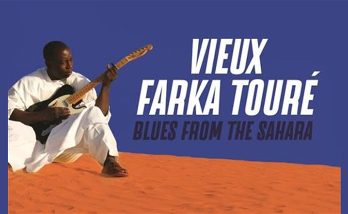 Vieux Farka Touré - Blues live celebration at MusicHall on 26 November... Tickets on sale!