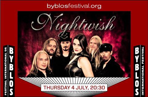 BYB-Nightwish 4 Jul.13(Thur) at Byblos  bea04214ec8