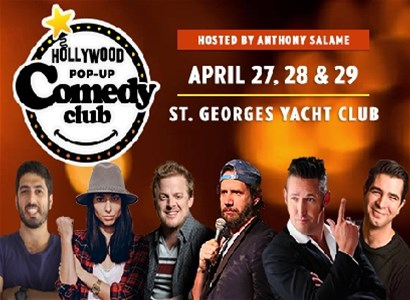 Hollywood Pop-Up Comedy Club