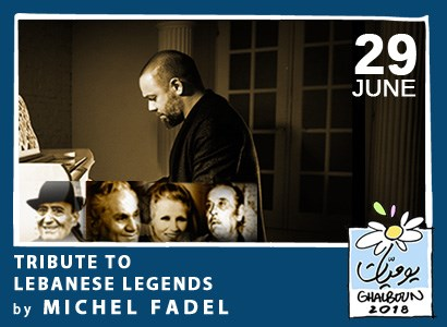 Tribute to Lebanese Legends by Michel Fadel