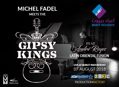 Michel Fadel Meets thw GIPSY KINGS