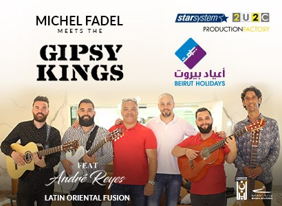 Michel Fadel Meets the GIPSY KINGS Featuring André Reyes