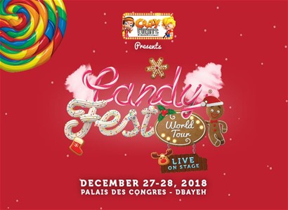 CANDY FEST WORLD TOUR - LIVE ON STAGE!