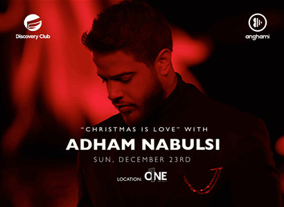 """Christmas Is Love"" with ADHAM NABULSI and DJ Mini-B"