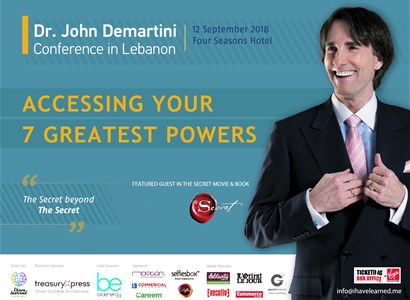 Dr. John Demartini Conference: Accessing your 7 greatest powers
