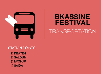 Transportation For Bkassine Festival